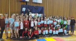 """Palatul Copiilor -14 locuri I la dans la Concursul Internațional de dans """"Grand Prix"""" Subotica din Serbia"""