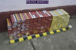 Peste 31.000 țigarete, confiscate de polițiștii arădeni