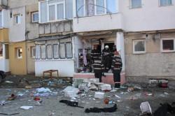 O butelie cu gaz a explodat într-un apartament !
