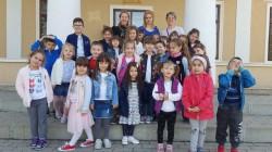 Muzeul Memorial Ioan Slavici și Emil Monția din Șiria a fost vizitat de preșcolarii din Arad