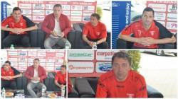 Conferinţa de presă premergătoare meciului Dunărea Călărăşi-UTA. Roșu anticipează un duel echilibrat (FOTO/Video)