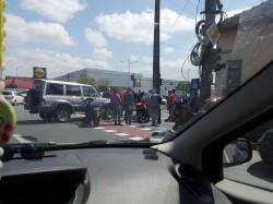 Motociclist accidentat grav în Micălaca pe Calea Radnei