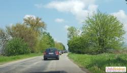 Drumul spre Moneasa, foarte aglomerat duminică după masa !