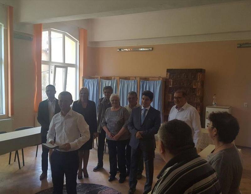 Candidatul PNL, Marius Silviu Oneț, și-a depus candidatura pentru Primăria Comunei Covăsânț!