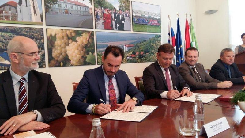 Parteneriat cultural între Arad şi Lendava (Slovenia)