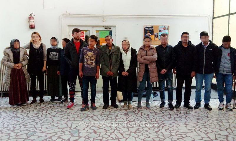 14 cetăţeni din Irak şi Siria, opriți la frontieră din drumul ilegal  spre Ungaria
