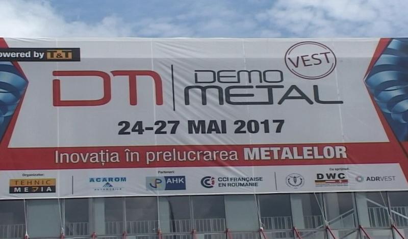 Demo Metal, târgul dedicat industriei prelucrării metalelor, şi-a deschis porţile la EXPO Arad