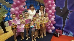 Micile gimnaste de la ritmică, pe podium la Naţionale