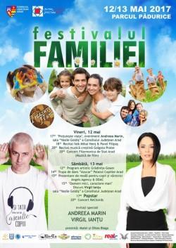 Andreea Marin prezentă la Festivalul Familiei de la Arad