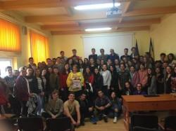 """Întâlniri cu personalități arădene la Colegiului Național """"Vasile Goldiș"""""""