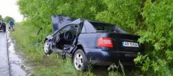 Accident în urma unui ghinion! O persoană a fost rănită
