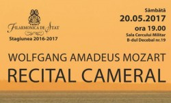 Medalion Wolfgang Amadeus Mozart, Sâmbătă, la Filarmonica din Arad