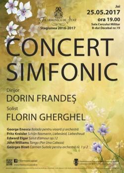CONCERT SIMFONIC sub bagheta dirijorului Dorin Frandeş