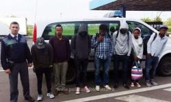 Şapte  cetățeni din Etiopia și Eritreea, opriți la frontieră cu Ungaria