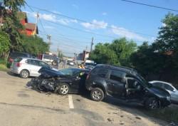 Accident grav în cartierul Pârneava
