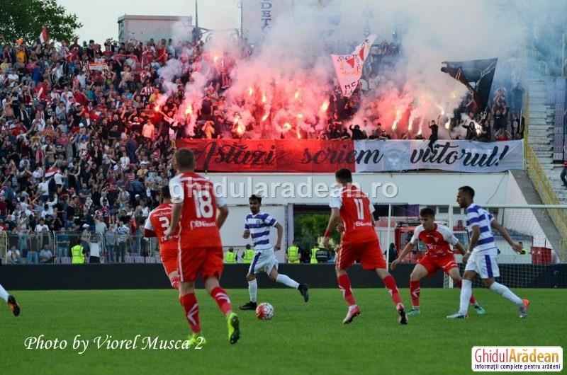 Meci cu miză uriaşă şi orgolii pe măsură! UTA joacă barajul pentru liga1 cu ACS Poli Timișoara
