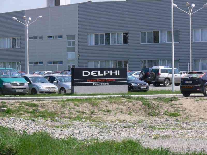 Ineul rămâne fără Delphi ! Fabrica se mută în Ucraina