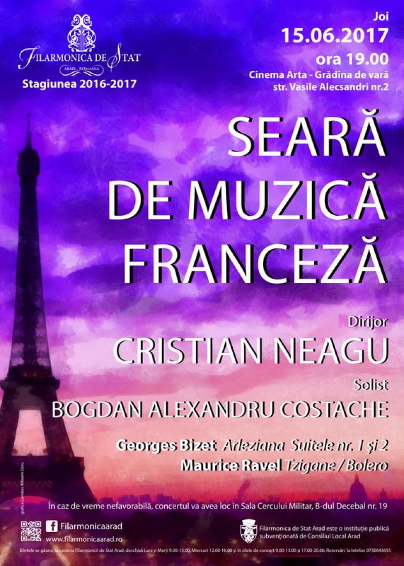 Seară de muzică franceză
