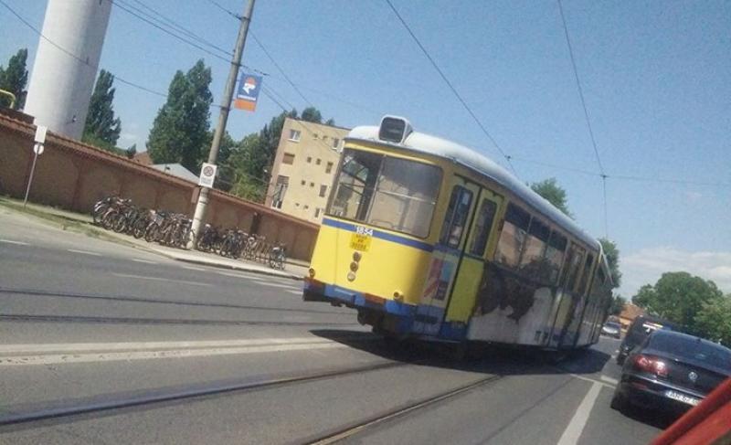 Se opreşte circulaţia tramvaielor în Grădişte