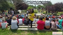 Parcul Aventura Voinicilor plin de veselie și culoare ! 1 IUNIE petrecut într-unul dintre parcurile de copii din Arad ! VEZI cine a mai fost prezent !