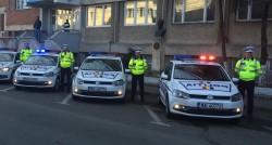 SUTE DE POLIŢIŞTI ARĂDENI LA DATORIE ÎN MINIVACANŢA DE RUSALII