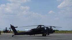 Deasupra Aradului, astăzi au zburat 10 elicoptere americane !