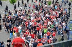 Ultras Arad anunţă că deplasarea la Timişoara se face cu autocarele!