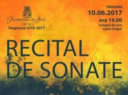 Recital Cameral de vioră la Filarmonica din Arad
