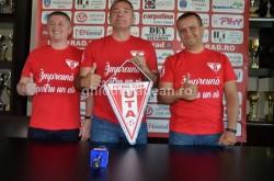 """O victorie frumoasă! după 4 ani, echipa fanion a Aradului are dreptul să folosească denumirea """"Fotbal Club UTA Arad"""" Fotbal Club UTA Arad!"""