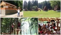 Educaţie Montanistică asigurată de Consiliul Judeţean Arad în Parcul de la Căsoaia