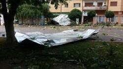 În Arad și în județ, furtuna și vântul puternic au făcut prăpăd ! VEZI Foto !