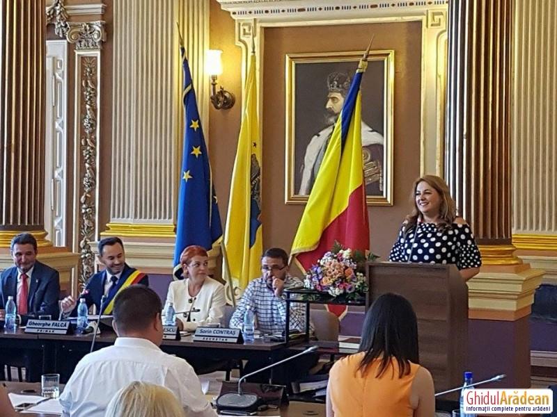 Geanina Pistru, fostul consiler local PNL și-a motivat decizia de a demisiona din CLM:Funcțiile nu mă definesc! Rămân alături de primarul Gheorghe Falcă!