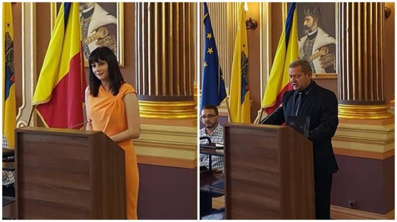 Doi membri noi în Consiliul Local, Isabela Rabotka și Arsenie Handra