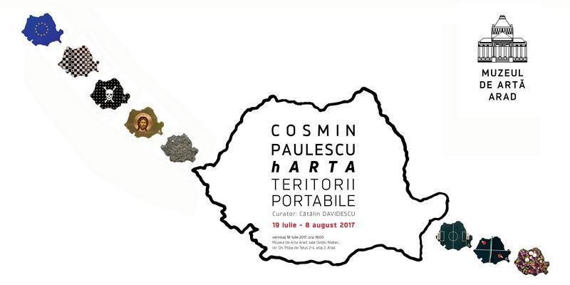 """Muzeul de Artă Arad găzduieşte expoziţia: """"HARTA. TERITORII PORTABILE"""""""