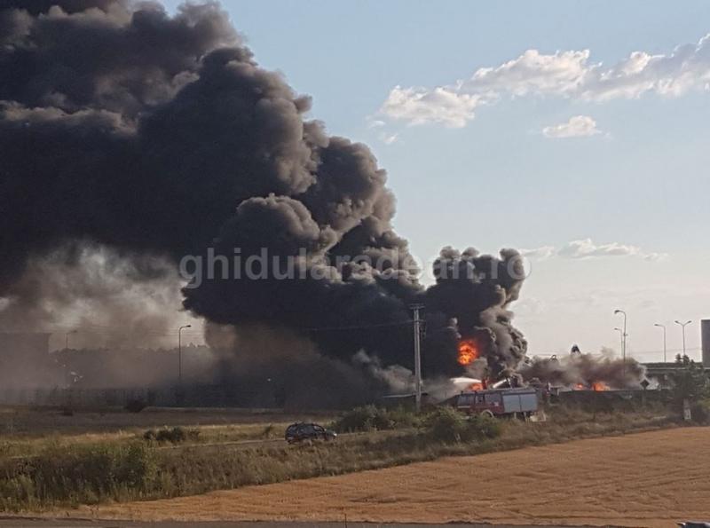 Breaking News! Arde REMAT-ul din Frumuşeni! (FOTO/Video)