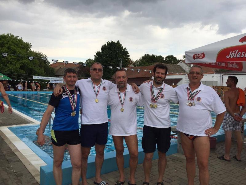 Masters Înot la Totkomlos 2017