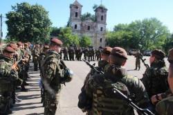 """Batalionul 191 Infanterie """"Colonel Radu Golescu"""" din Arad participă la """"Brave Warrior 17"""" (Foto/Video)"""