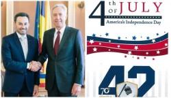 Falcă invitat la ambasada SUA de 4 Iulie