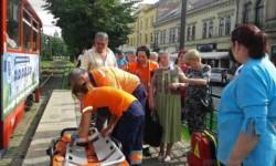 Accident de circulație miercuri seara în fața Primăriei din Arad !