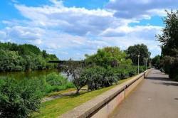 Municipalitatea are în vedere patru proiecte pentru malul Mureşului