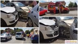 Accident cu o victimă pe strada Liviu Rebreanu, implicate două şoferiţe
