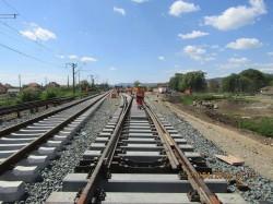 S-a semnat autorizaţia pentru reabilitarea unui tronson din linia de cale ferată Simeria – Curtici