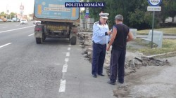 Poliţiştii de la biroul Rutier, Ordine publică şi Investigaţii criminare au împânzit străzile Aradului