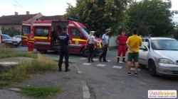 GALERIE FOTO ! Accident rutier pe Ion Rațiu, produs din cauza neatenției !