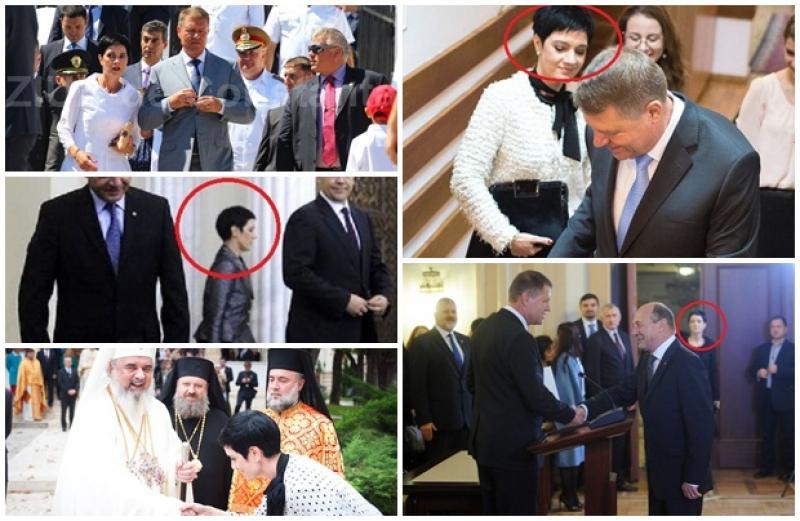 Umbra preşedintelui. Află totul despre femeia brunetă care apare mereu lângă Klaus Iohannis