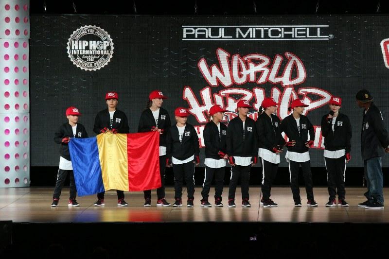 X-Style Kids s-au oprin în semifinale la mondialele de dans hip hop din America