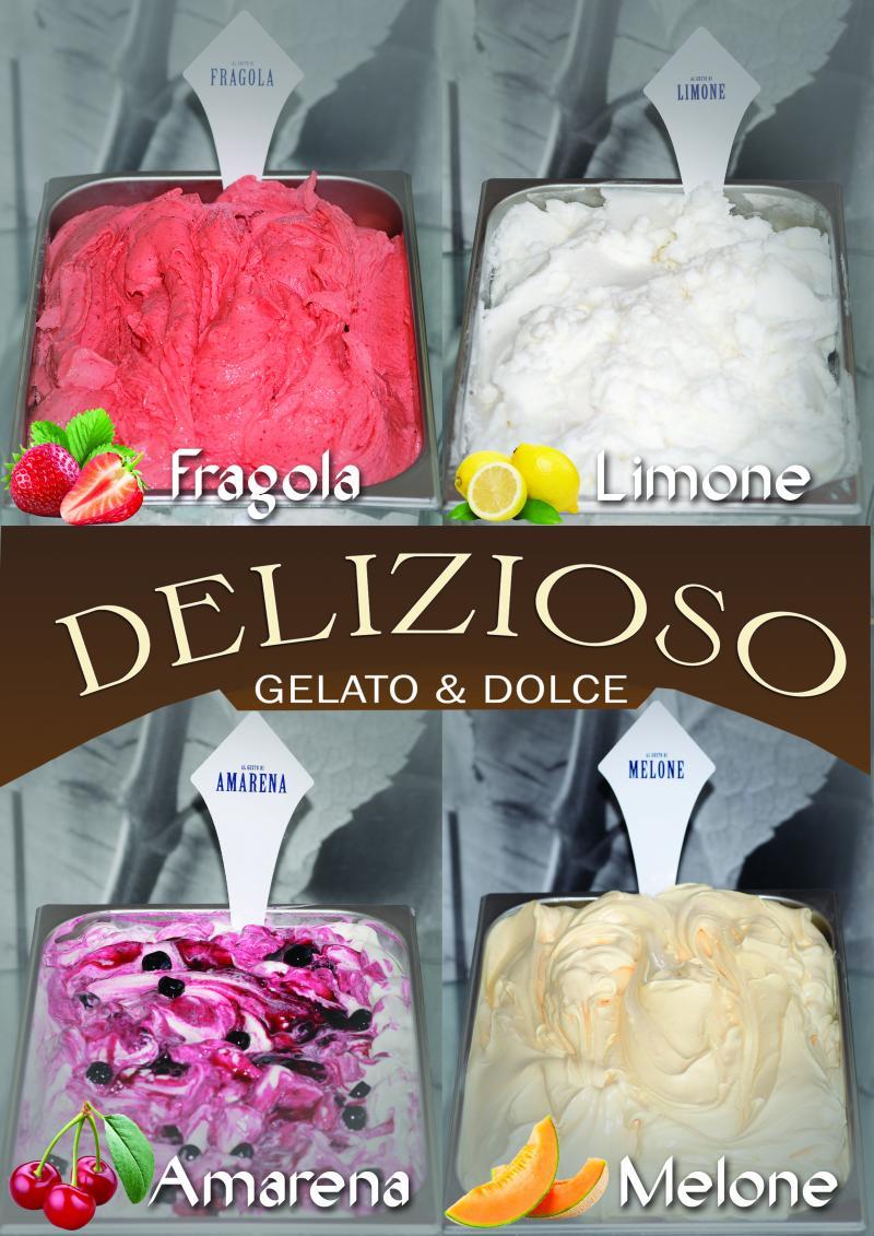 ( P) DELIZIOSO Gelato & Dolce- Înghețata de care sigur te-ai îndrăgostit !