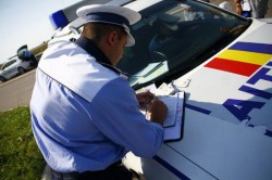 Număr record de permise auto, reţinute de poliţiştii arădeni în ultimele 24 de ore
