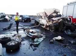 VIDEO - Un român a murit strivit în urma unui groaznic accident de circulație, în apropiere de Vama Nădlac !