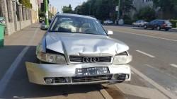 Șoferiță rănită, în urma unui accident la Boul Roșu !